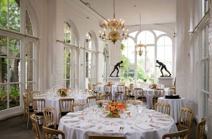 The Orangery is a well known as a hidden gem in one of London's most beautiful settings. Formerly the garden ballroom of the fourth Lord Holland, The Orangery is an unusual venue for special events.