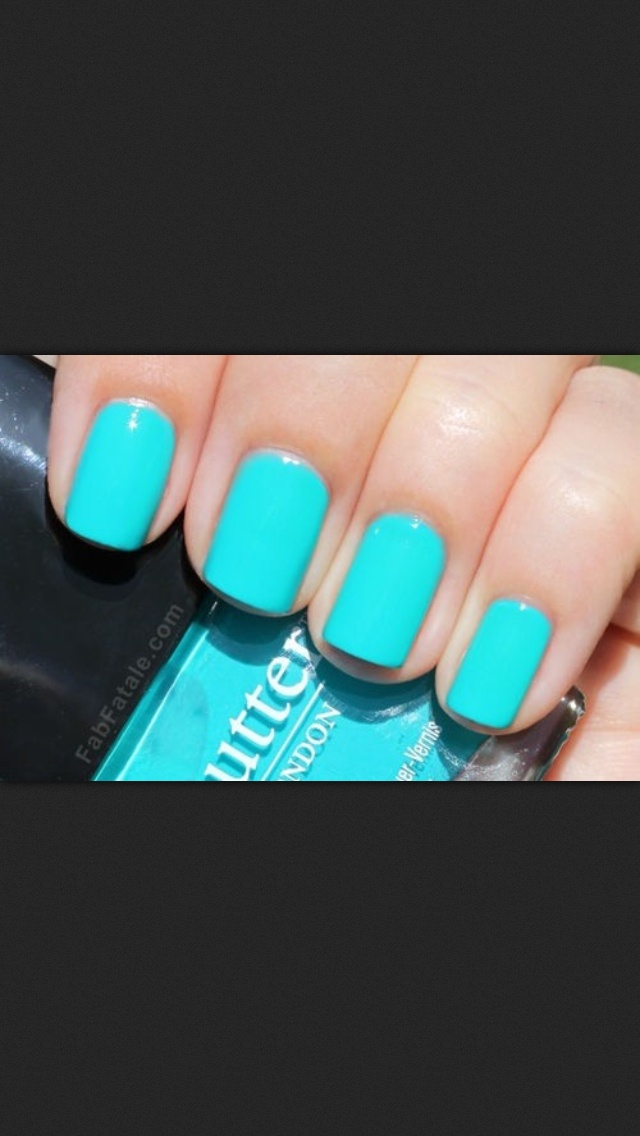 Not sure if I want the bridesmaid's nails this colour or more of a french manicure...