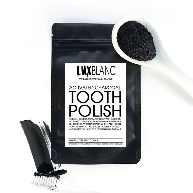 Activated Charcoal Tooth Polish Powder