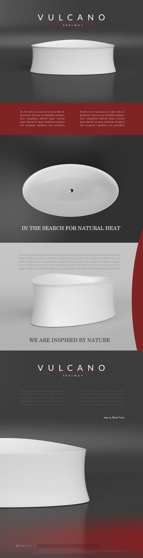 """Przejrzyj mój projekt w @Behance: """"VULCANO BATHTUBE"""" https://www.behance.net/gallery/44820543/VULCANO-BATHTUBE"""