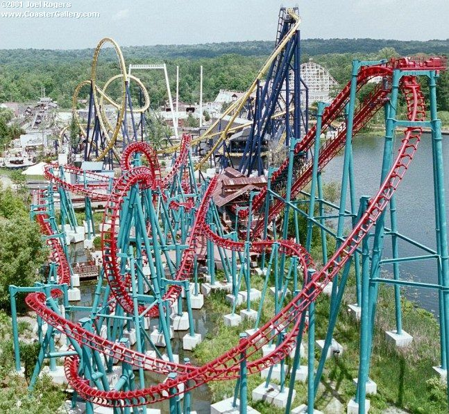 Geauga Lake, Aurora, Ohio - huge part of my childhood!