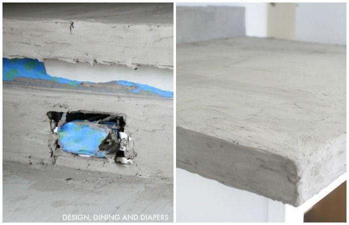 encimera cemento