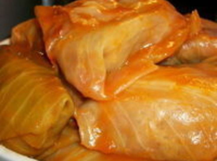 Halupki Slovak Stuffed Cabbage Recipe In 2019
