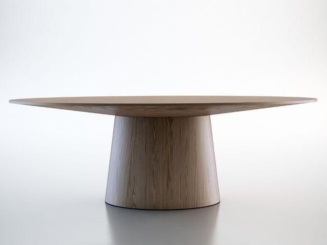 sullivan dining table by modloft | modern dining room furniture | modoLiving