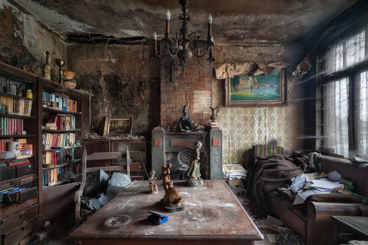 """""""Hard to believe that on either side of this house people are living,"""" Zegwaard says of this home called House of Vanneste. """"It can't be healthy if this is what it looks like at your neighbors."""""""