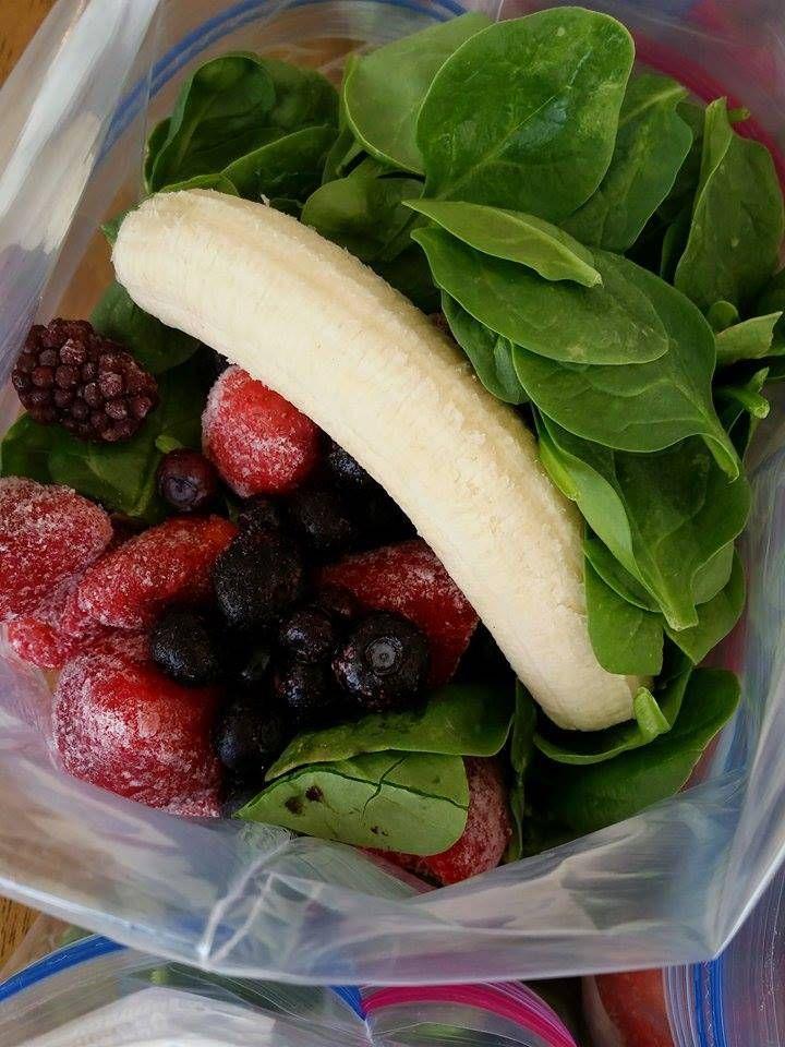 Clean Food Crush Green Smoothie Prep Packet