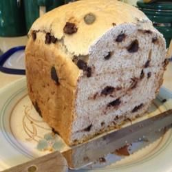 Chocolate Chip Bread in Breadmaker
