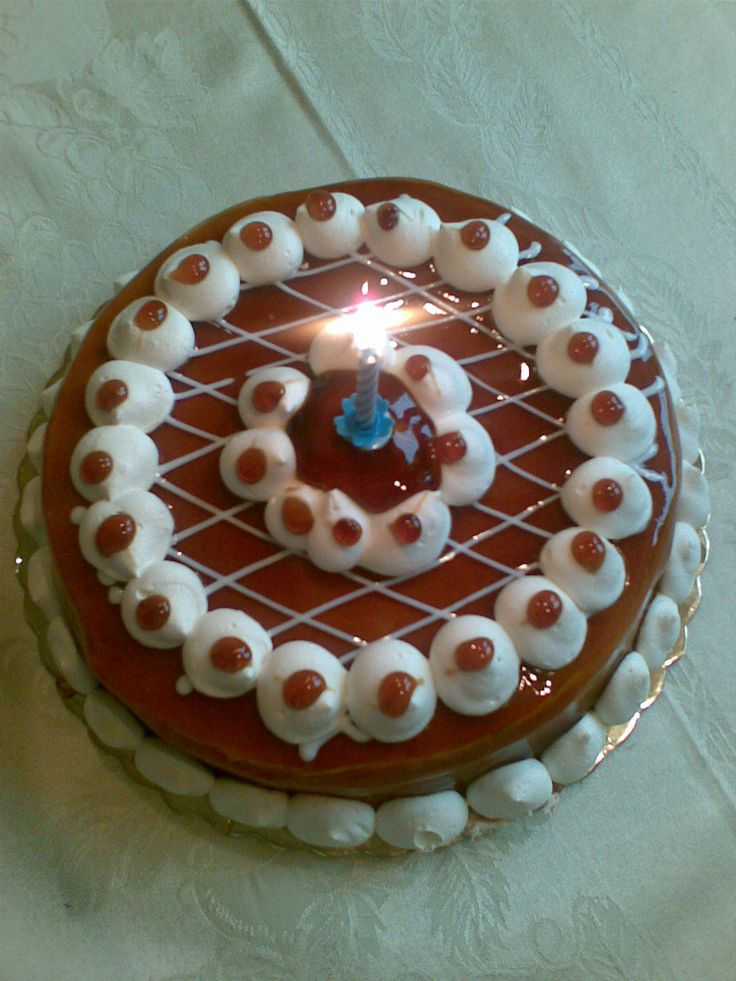 Vanilla Caramel birthday cake