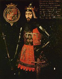 John of Gaunt.  Forebear of the House of Tudor.