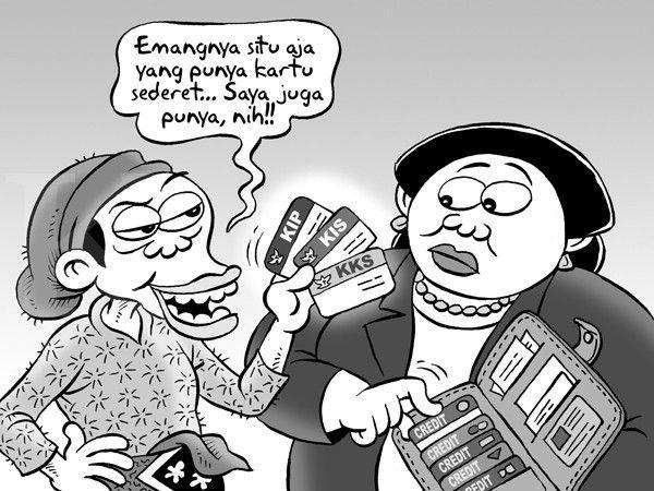 Kartun Benny - Kontan - Oktober 2014: Benny Rachmadi - Fenomena Kartu Sakti Jokowi
