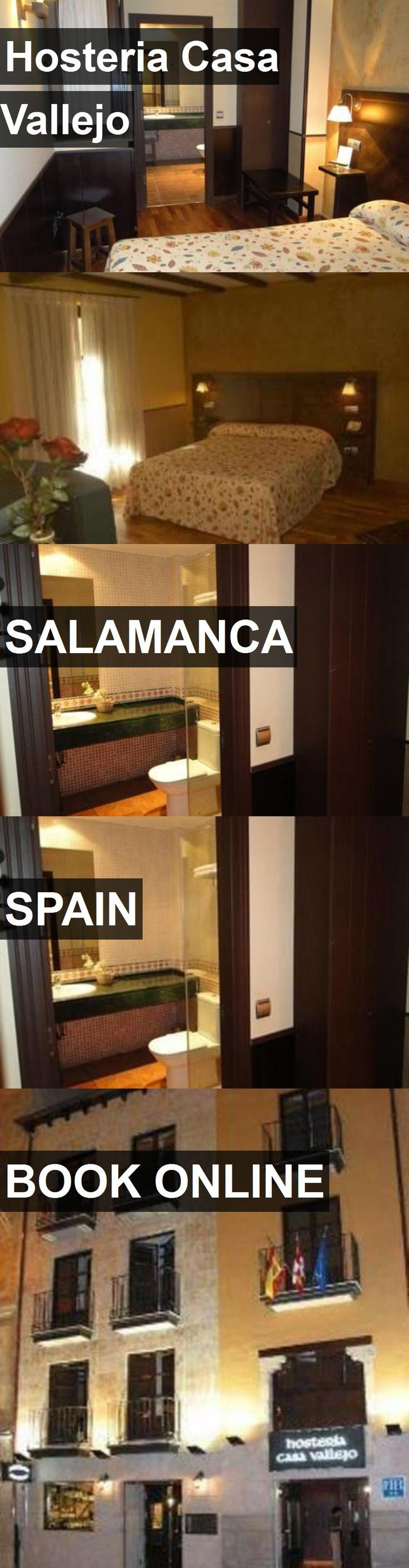 Hotel Hosteria Casa Vallejo in Salamanca, Spain. For more information, photos, reviews and best prices please follow the link. #Spain #Salamanca #travel #vacation #hotel