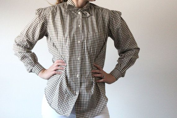 Hey, I found this really awesome Etsy listing at https://www.etsy.com/listing/124109912/womens-green-plaid-shirt-button-up-shirt