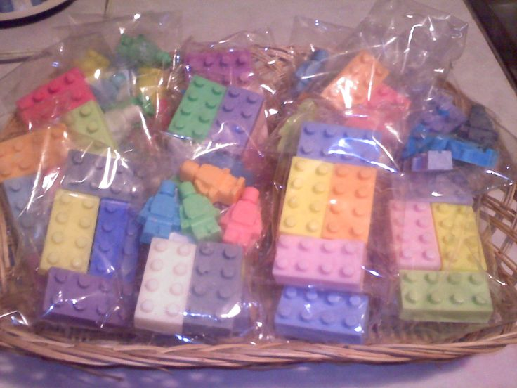 Lego soap, used melt and pour soap and a lego mold. Very simple to make!! My daughter makes them for me :)
