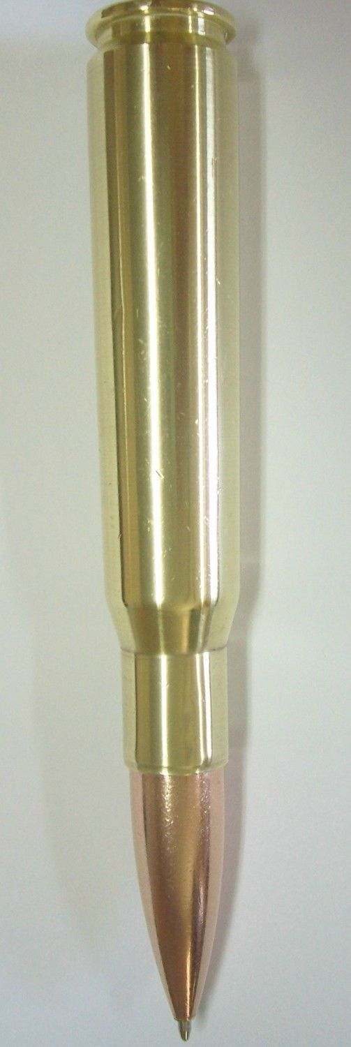 50 Caliber Bullet Ink Pen 50CAL-IP by BulletDesigns on Etsy
