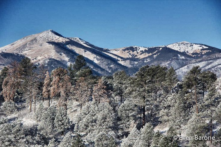 One of my favorite views. Sierra Blanca, Ruidoso, New Mexico.