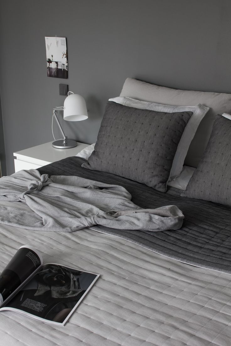 Best 25+ Dark grey bedrooms ideas on Pinterest | Charcoal paint ...