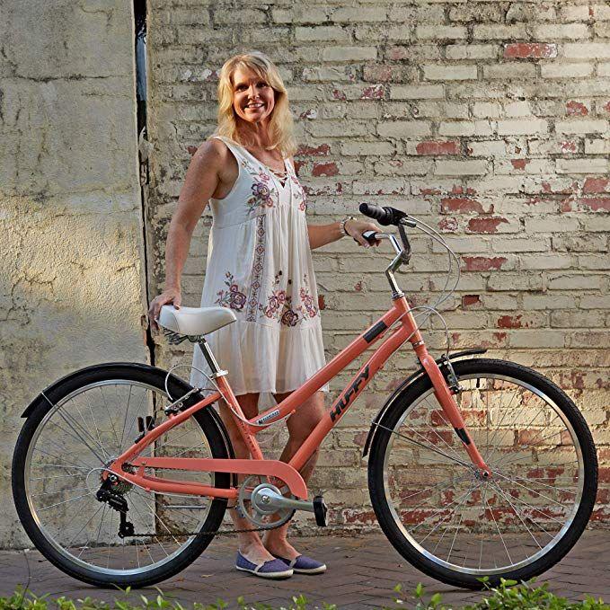 Huffy Womens Commuter Bike Hyde Park 27 5 Inch 7 Speed Lightweight Gateway Commuter Bike Womens Commuter Bike Bicycle Girl