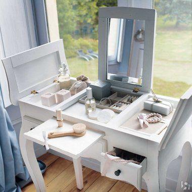 Где и как разместить туалетный столик в интерьере? | DG-Home