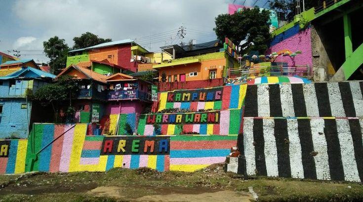 Kampung Jodipan Malang, Tempat Berburu Foto Instagramable Warna-Warni