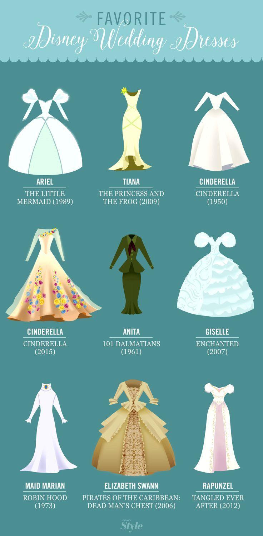 Nos robes de mariage Disney préférées