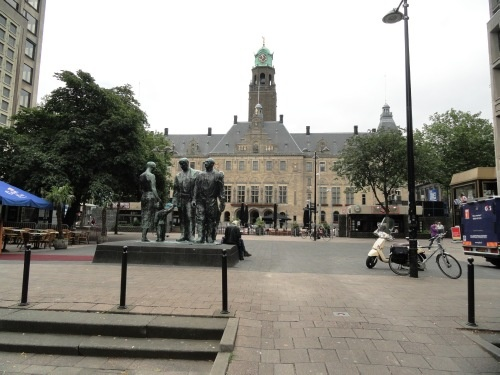 Stadhuis Rotterdam Holland