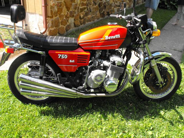 Motos Antigas : Benelli 750 Sei