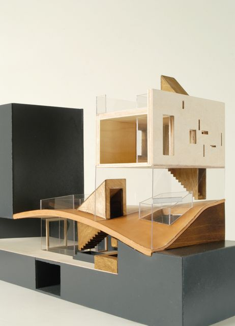 concept model for the Galvani House. Christian Pottgiesser –architecturespossibles