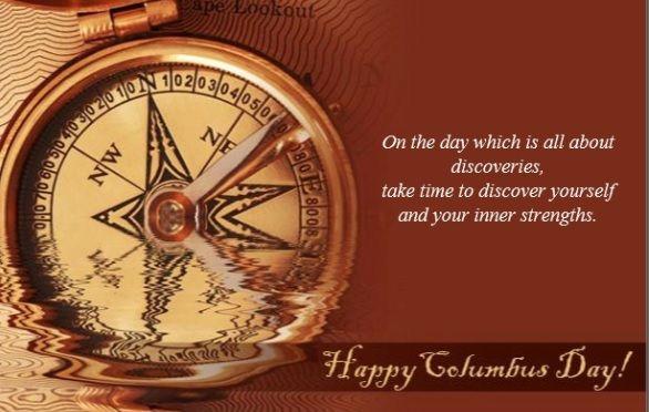 Happy Columbus Day From Nina Hollander and Carolinas Realty Partners