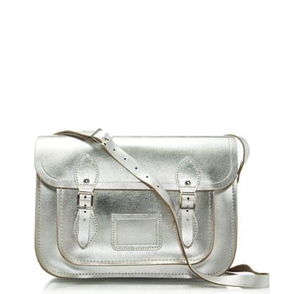 The Cambridge Satchel Company® metallic satchel