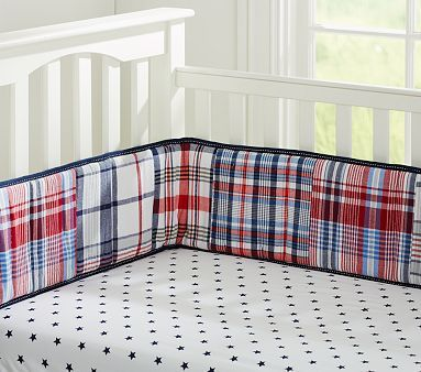 Star Crib Fitted Sheet #pbkids The star sheets could be a nice, subtle accent to the superhero nursery