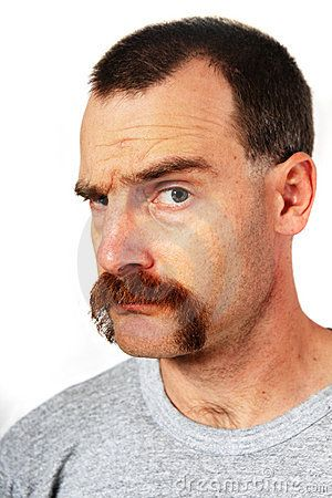 Man With Mustache - Download From Over 50 Million High Quality Stock Photos, Images, Vectors. Sign up for FREE today. Image: 17200025