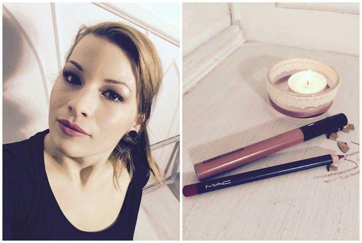 Beautystices sminkes lányok kedvenc termékei - Timi Imádom, ahogyan kedvenc rúzsom színét egy szájceruza meg tudja változtatni! Így akár minden nap viselhetem ugyanazt a MAC Lipcolour-t, a hatás mindig más lesz, attól függően milyen ceruzával kombinálom. :) #makwup #beauty #beautystic #lipscolour #lipstick #lippencil #selfie