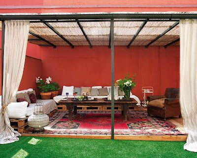 Estilo rustico patios rusticos terrazas y jardines for Patios rusticos