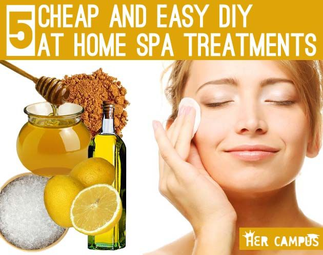 5 Cheap & Easy DIY Home Spa Treatmentsyes yes yes! We love home spa treatments!!