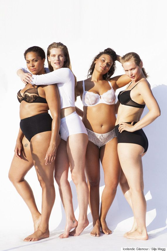 Models Of All Sizes Strip Down In The Name Of Body Diversity In Icelandic Glamour