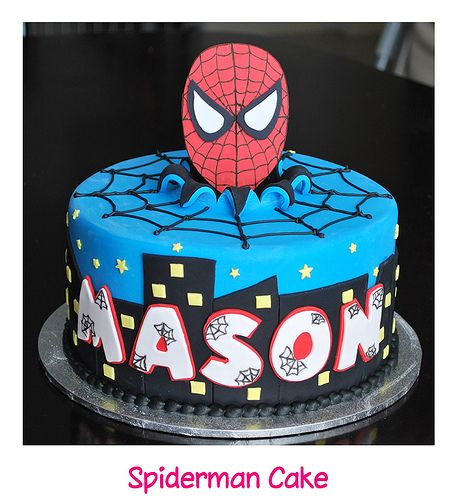 139 Best Spiderman Cakes Images On Pinterest