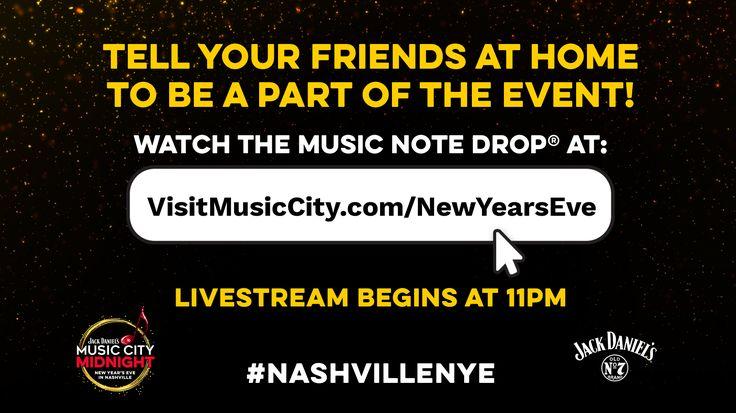 Watch Tim Monnig's Nashville's New Year's Eve 2019 on