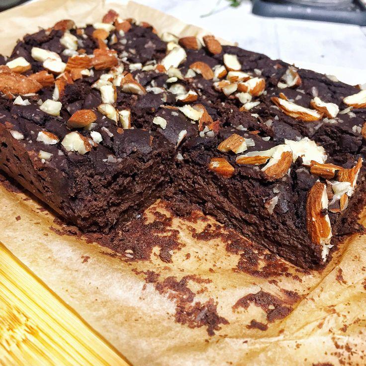 Un brownie oui, mais pas n'importe lequel! Vous savez pourquoi? Cette recette est sans matière grasse, il n'y a pas de farine, végétalien & sans gluten