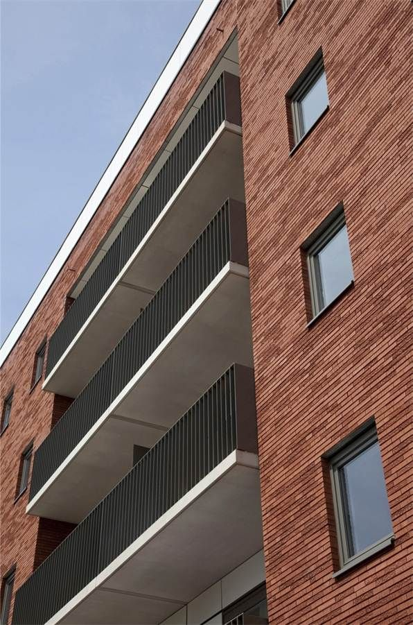 Terca marono rouge gdr architecten bvba gentbrugge for Boeckx interieur