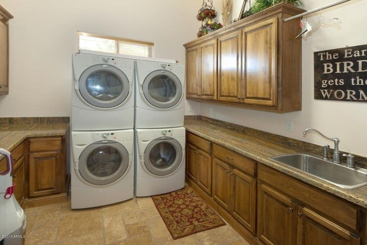 Love this large family laundry room dream home for Large family laundry