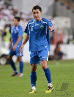 FUSSBALL INTERNATIONAL: Sanjar TURSUNOV (Usbekistan)