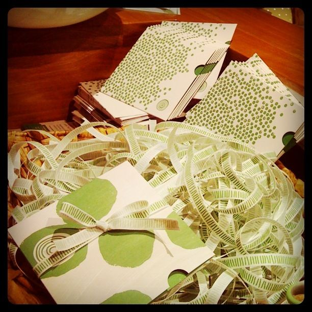 green spotty packages tied up with string, these are a few of my favourite things... Gift vouchers available in spa - redeemable at over 83 locations Australia-wide!