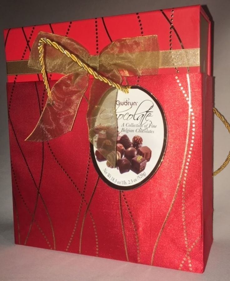 gudrun chocolate collection of fine belgian chocolates chocolate in gift bag red from $19.99