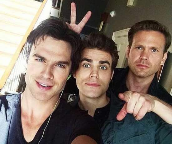 Ian, Paul and whos the old guy? haha only kidding Matt