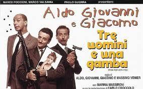 aldo giovanni e giacomo tre uomini e una gamba - 1997