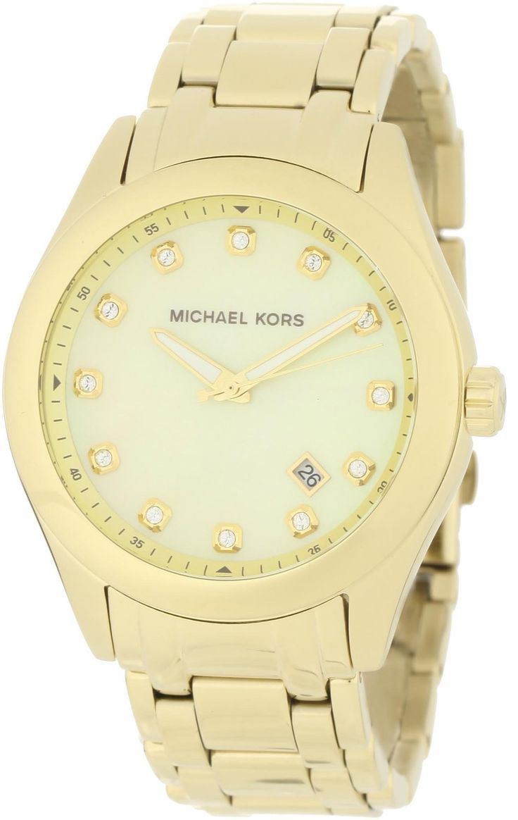 women\u0027s watches Review product Michael Kors Women\u0027s MK5310 Gold  Mother-Of-Pearl Watch