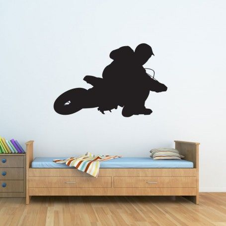 Dirt bike wall decal for Dirt bike wall mural