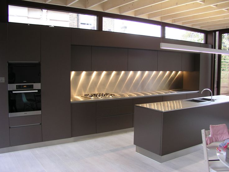 Image result for stainless steel kitchen worktops
