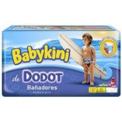 Pack 11 Couches de bains Dodot de la gamme Maillot de bain de taille 5 sur Les Looloos