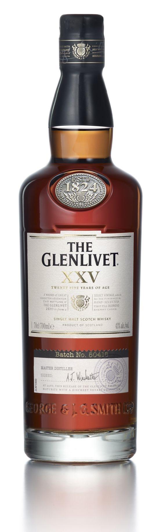 The Glenlivet XXV                                                                                                                                                                                 Más
